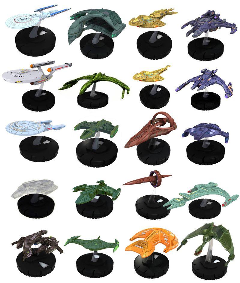Star Trek Ship Toys Star Trek Tactics ii Ships